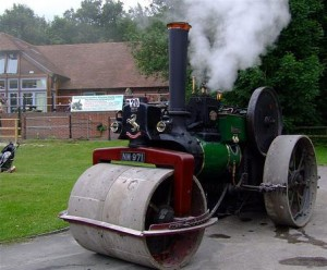 Aveling & Porter Steam Engine